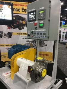 The World of asphalt - VSS Macropaver booth with the XD 100SX Emulsion Plant Mill Skid