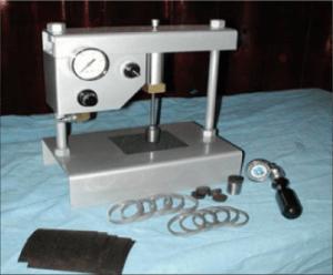 Basic Manual Cohesion Tester